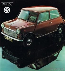 British Leyland Mini 850 de Luxe